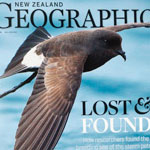 NZ Geographic - NZ storm-petrel cover